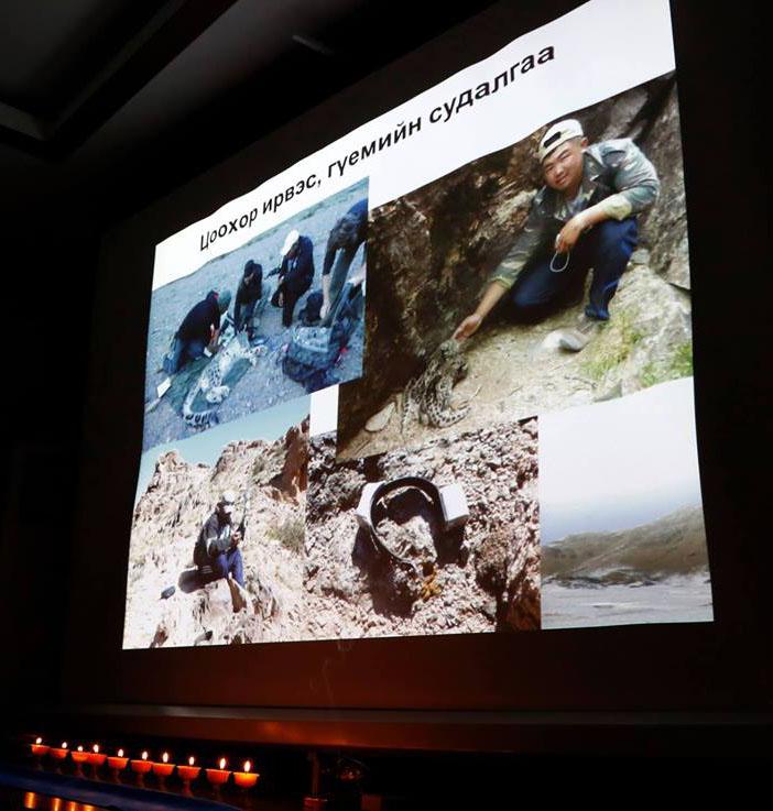 Биологич, байгаль хамгаалагч  Төмөрсүхийн Лхагвасүмбэрэлийн дурсгалыг  хүндэтгэв