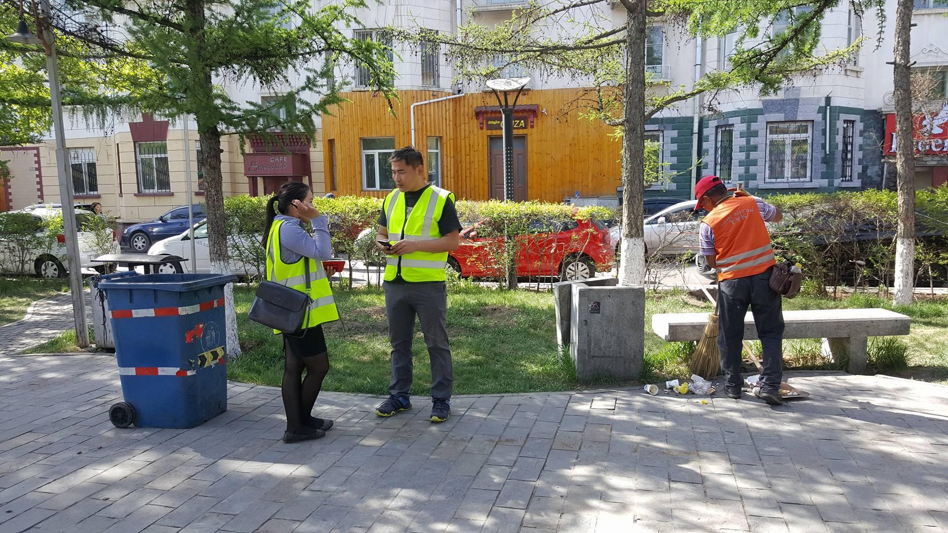 Хотын ногоон байгууламжийн хяналтаар МБОИЗ ажиллаж байна