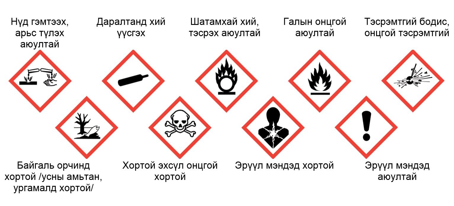 Хорт болон аюултай химийн бодис