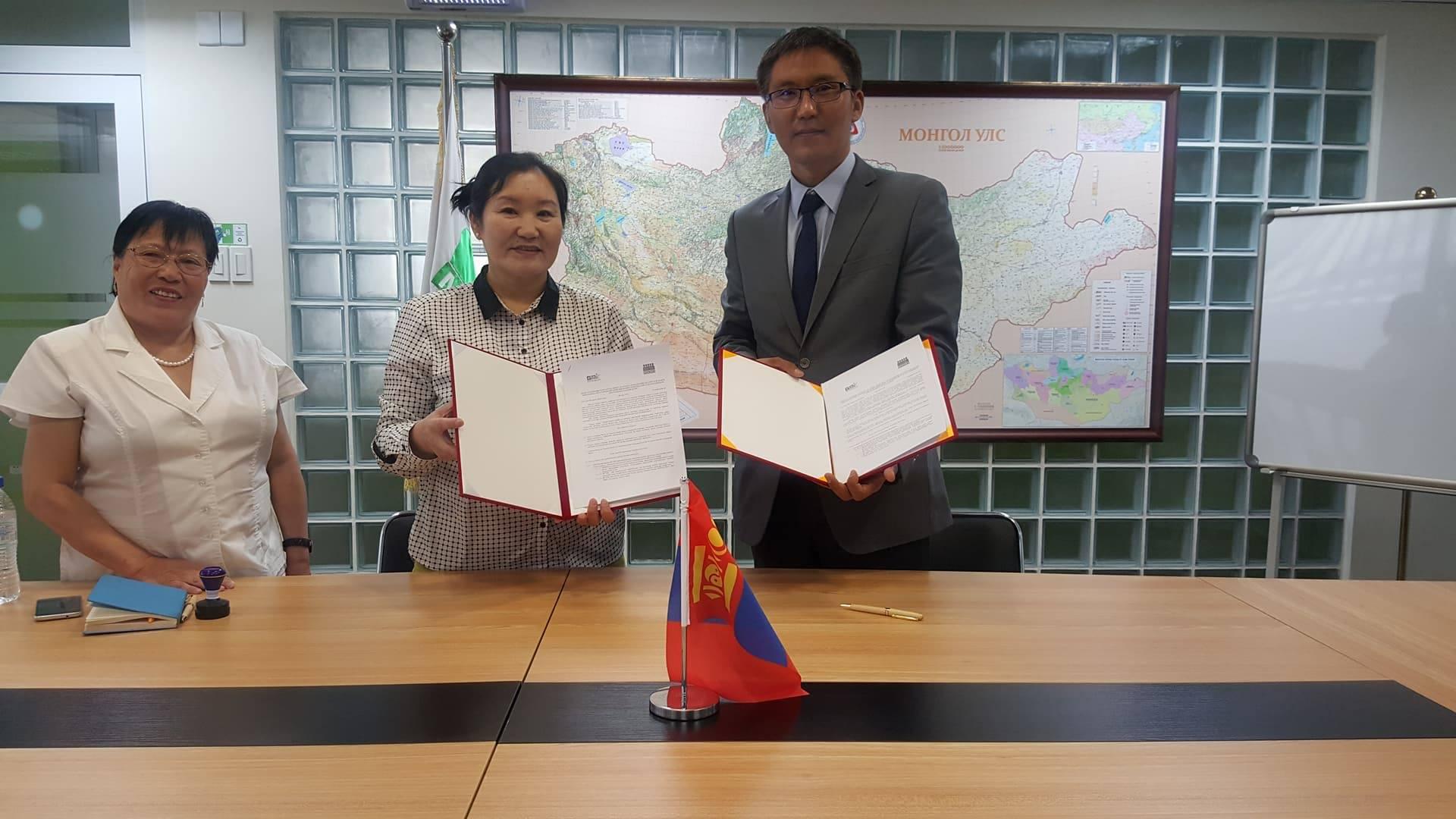 Монгол - германы хамтарсан ашигт малтмал, технологийн их сургуультай харилцан ойлголцлын санамж бичигт гарын үсэг зурлаа