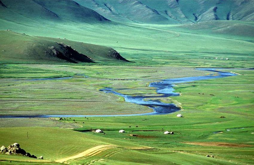 Монгол орны гол, мөрөн